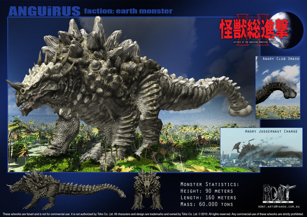 Anguirus by LDN-RDNT