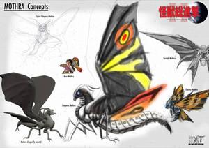 Mothra Concepts