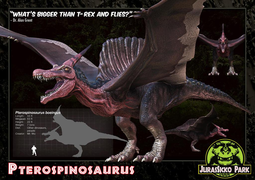 03 Pterospinosaurus by LDN-RDNT