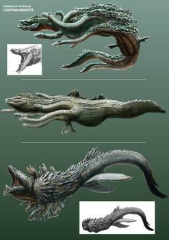 CotN: Leviathan Concept Sketches