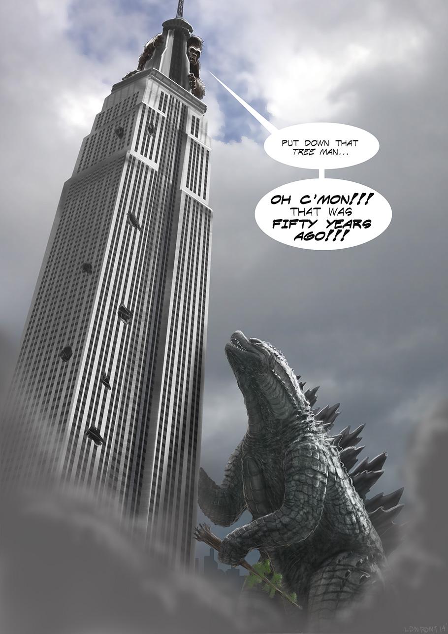 Godzilla vs King Kong---The Remake! - Godzilla 2014 Forum