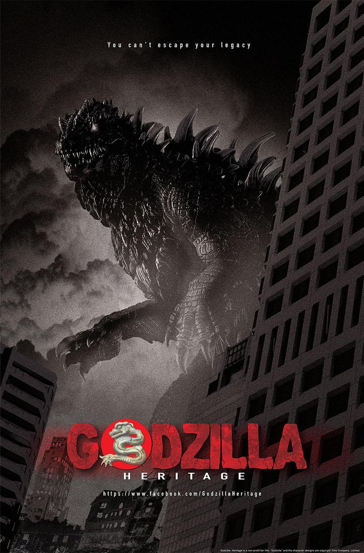Godzilla: Heritage Poster by LDN-RDNT