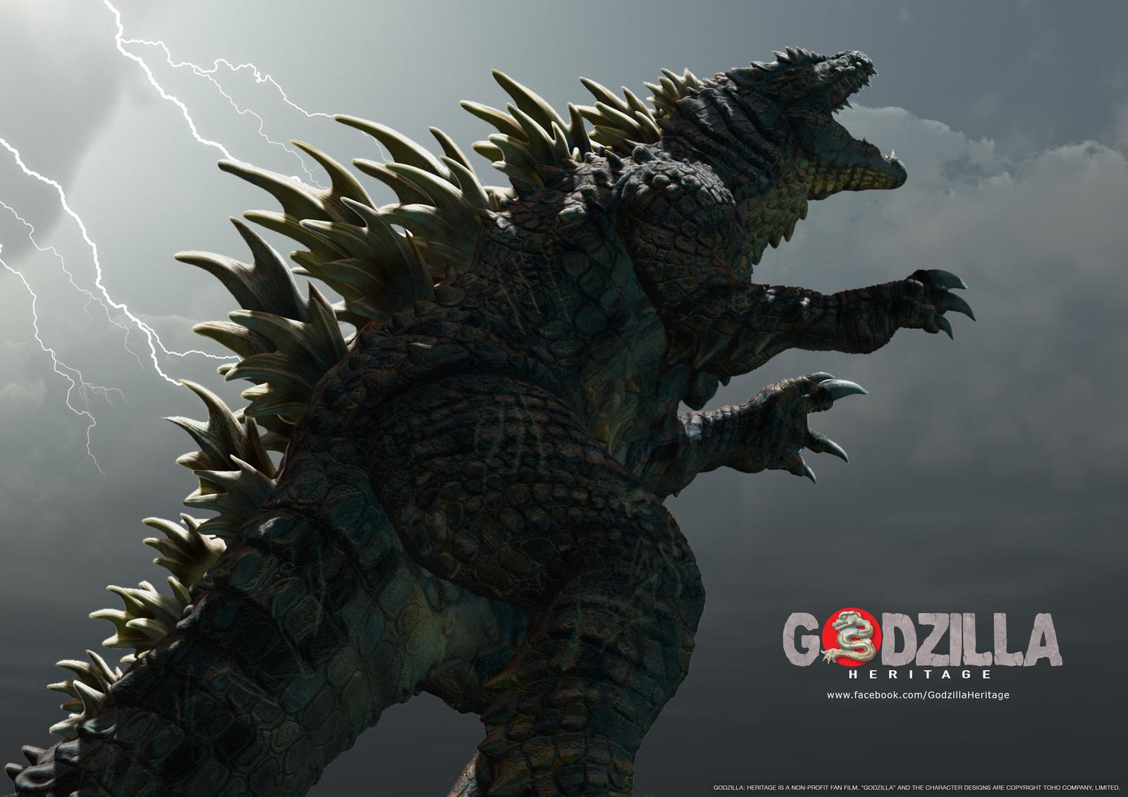 Godzilla: Heritage Concept Art 1 by LDN-RDNT