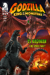 DHC Godzilla No. 3 Cover Remake (Tribute) by LDN-RDNT