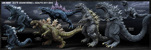 G Design works and sculpts 2011-2016