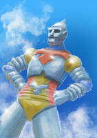 Jet Jaguar by LDN-RDNT