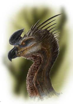 Dino-drago-bird creature