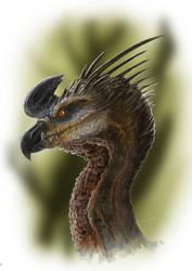 Dino-drago-bird creature by LDN-RDNT