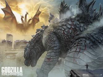 Talenthouse Godzilla Poster Entry
