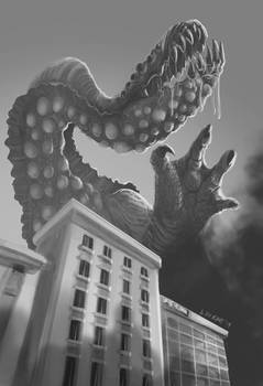 Pinup for Attack of the Kaiju Vol.2