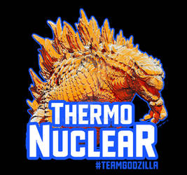 Team Godzilla: Thermonuclear T-shirt