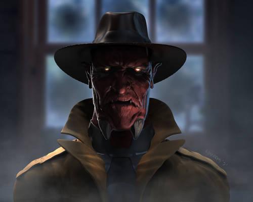Damien Darkblood Concept