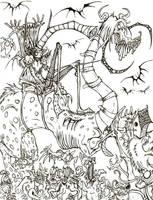 The March of King Naughty by YaginoBaka