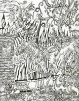 The Sacrosanct Gate of Q by YaginoBaka