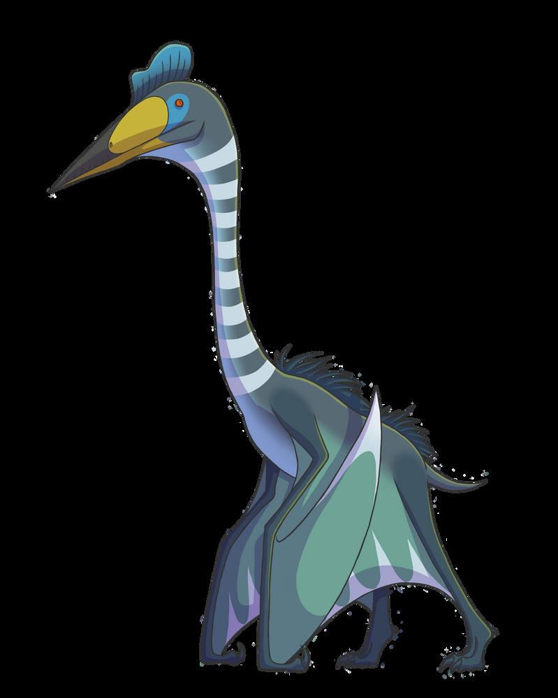 Quetzalcoatlus by Clojo-733