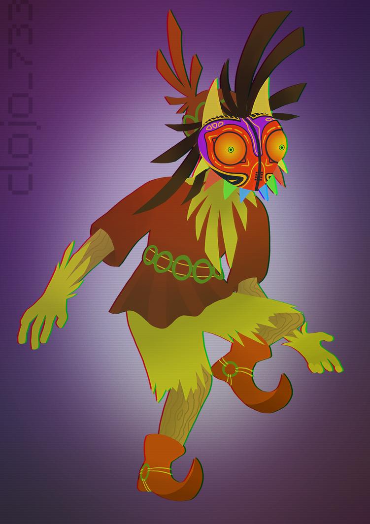 Skull Kid by Clojo-733