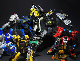 PowerCore Combiners by Tformer