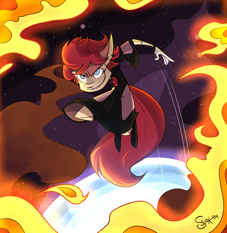 Child of the fire by KetrinPetterson94
