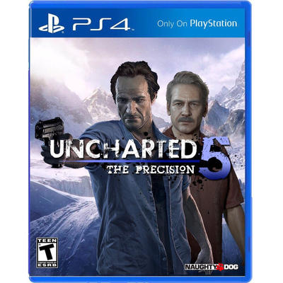 Uncharted 5 PS4 cover/case fan art by Laduski on DeviantArt