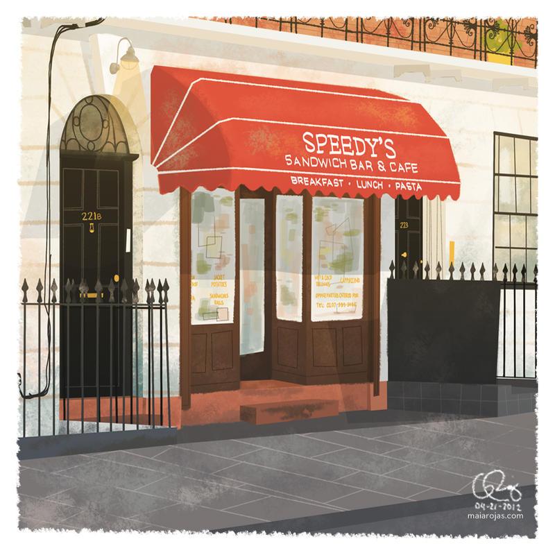 221B Baker Street by limori