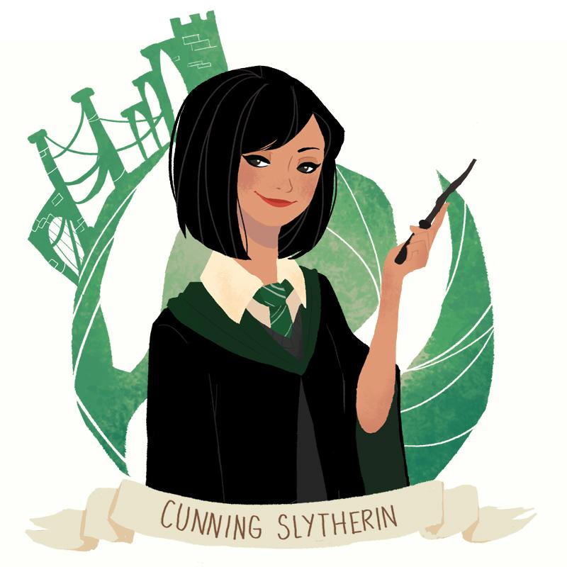 Harry Potter Slytherin Girls I'm a Slyth...