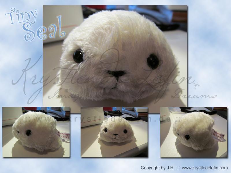 Tiny Little Seal by MooneyeKitsune
