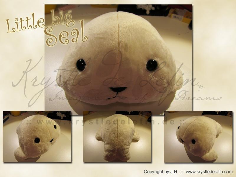 Little Big Seal by MooneyeKitsune