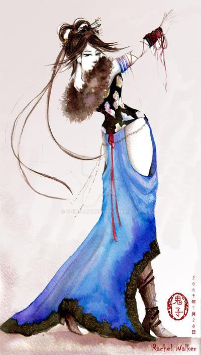 Olivia by Oniko-art