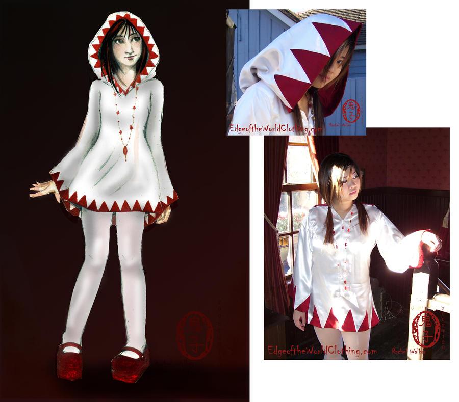 White Mage mini-dress set by Oniko-art