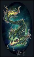 BadGoldFish by alexowo