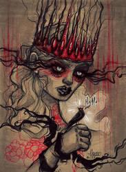 RedLady by alexowo