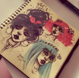 Doodle by alexowo