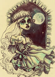 Lady by alexowo