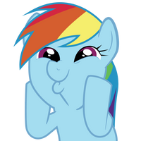 Rainbow Dash So Awesome Vector by robzombiefan2121