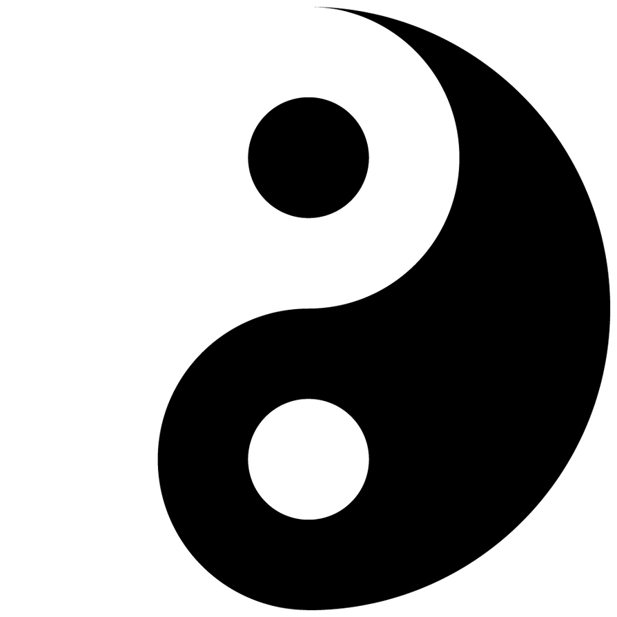 yin yang vector by robzombiefan2121 on deviantart rh robzombiefan2121 deviantart com Yin Yang Fire and Ice ying yang vector art