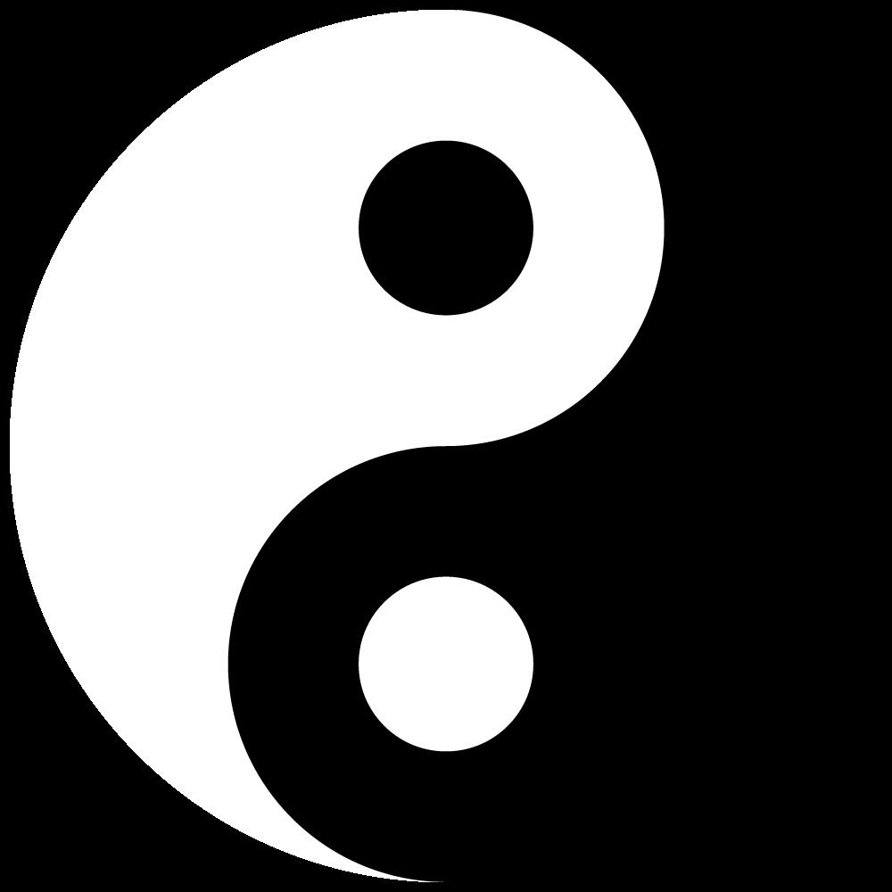 yin yang vector by robzombiefan2121 on deviantart rh deviantart com Yin Yang Wings Yin and Yang Meaning Love