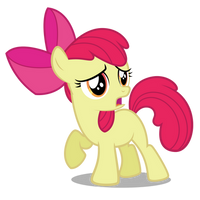 Apple Bloom Waiting For Babs by robzombiefan2121
