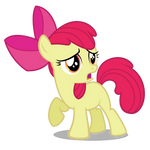 Apple Bloom Waiting For Babs