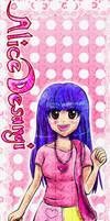 Alice Desangi Bookmark