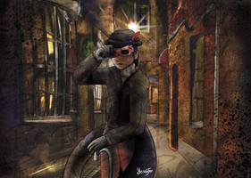 Commission: Loki the Blind Vigilante by FaithWalkers