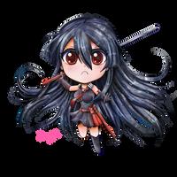 Chibi Akame by FaithWalkers