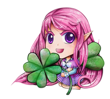 Chibi Jemma Spring Fairy by FaithWalkers