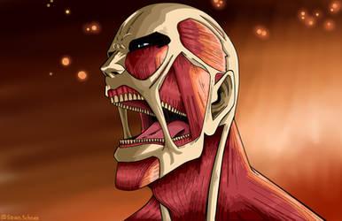The Colossal Titan by Shawdycus