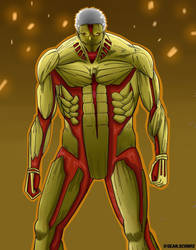 The Armored Titan by Shawdycus
