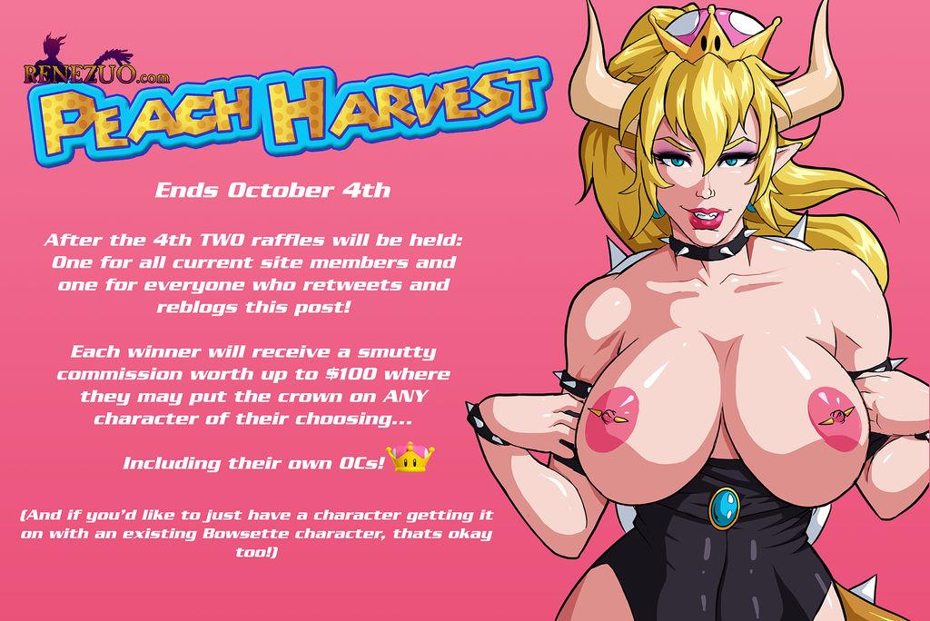 Autumn Raffle - Peach Harvest by Renezuo