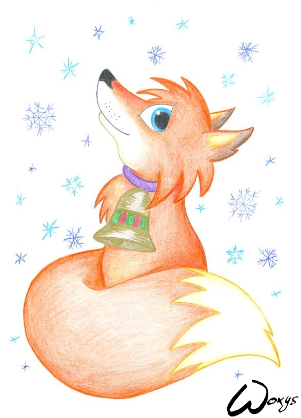 Merry Christmas by Foxy Woxy by woxys