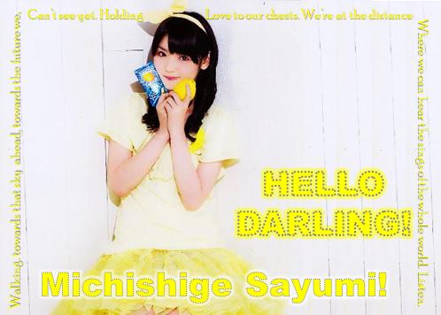 Michishige Sayumi - Lemons! by FerdinandFranz