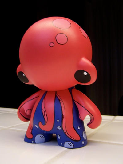 Octopus Munny by miss-shelby