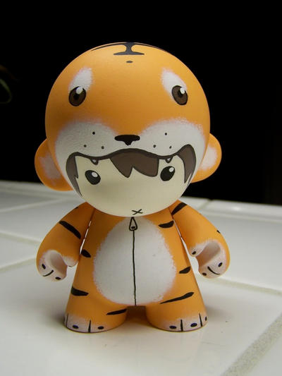 Commission - Tiger Suit Munny by miss-shelby