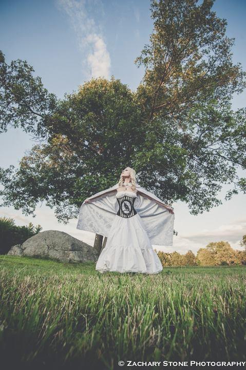 White Sorceress by MidnightStarr3791